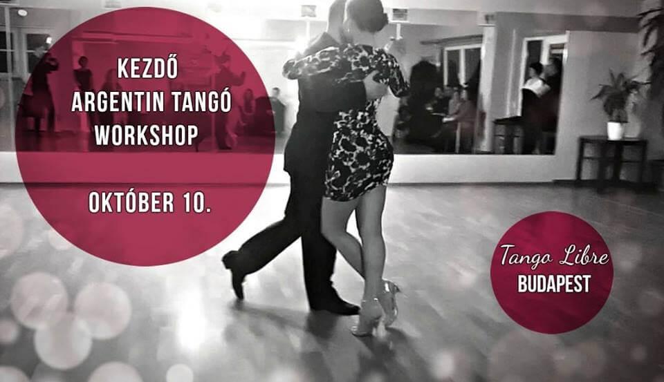 Kezdő Intenzív Argentin Tangó Workshop okt.-10.