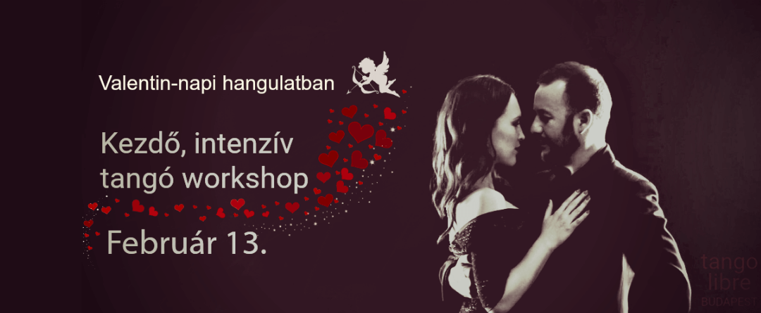 Intensive argentine tango workshop for total beginners