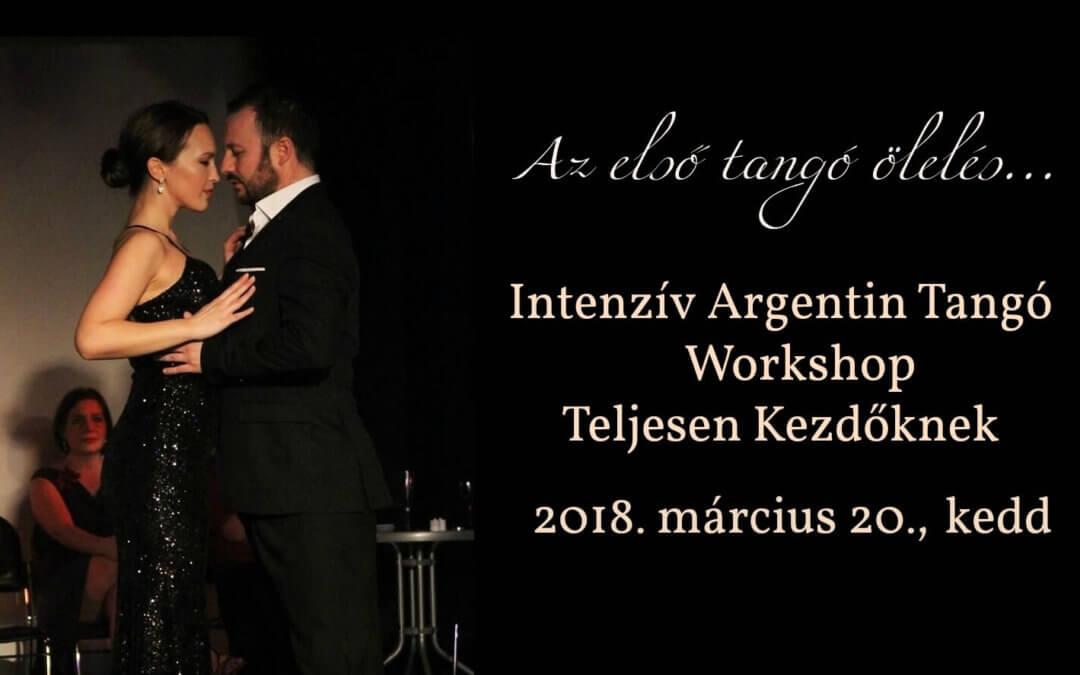 Intenzív Argentin Tangó Workshop Teljesen Kezdőknek