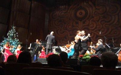 Argentin tangó a Klasszikus Karácsony Koncerten a Kongresszusi Központban