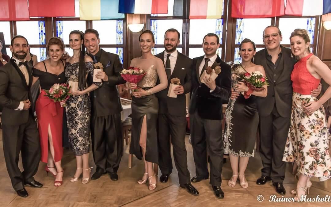 European Tango Contest 2019. (Münster ) győztesei: Andrea & Endre