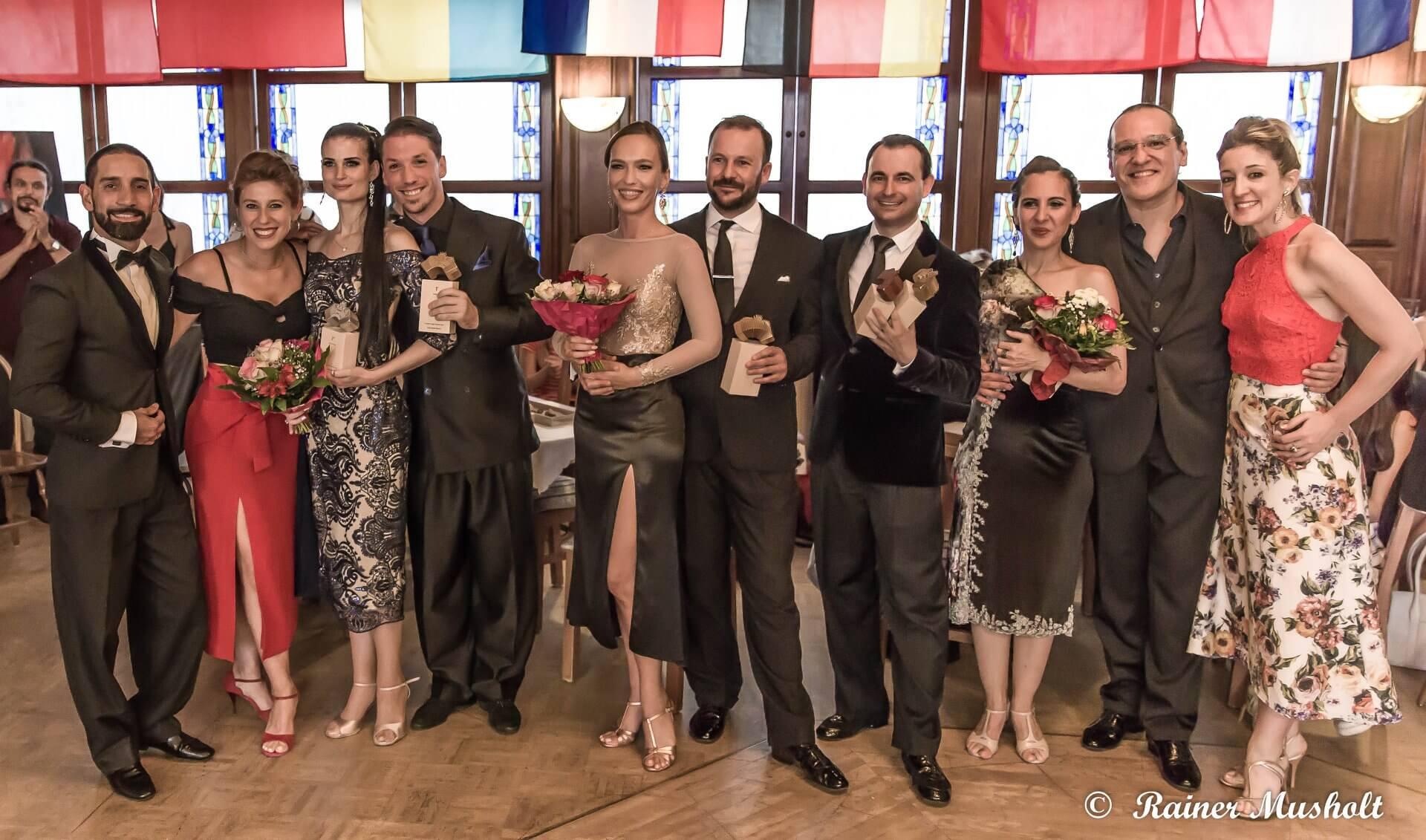 Tango de Pista Bajnokok - European Tango Contest