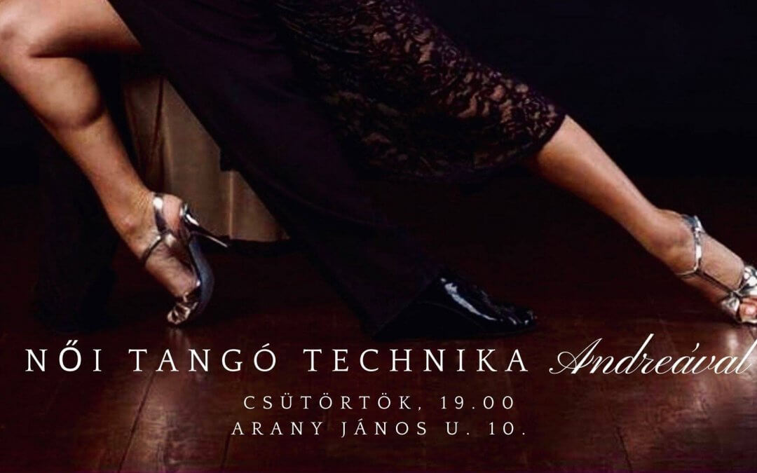 Women's Tango Technique class every week