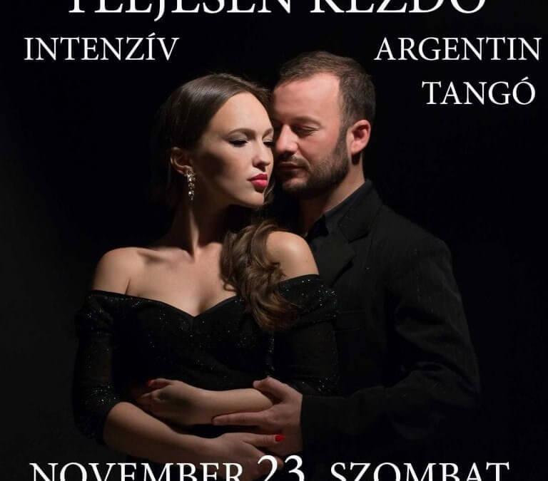 Teljesen kezdő argentin tangó Budán a T-Klubban, november 23-án, szombaton