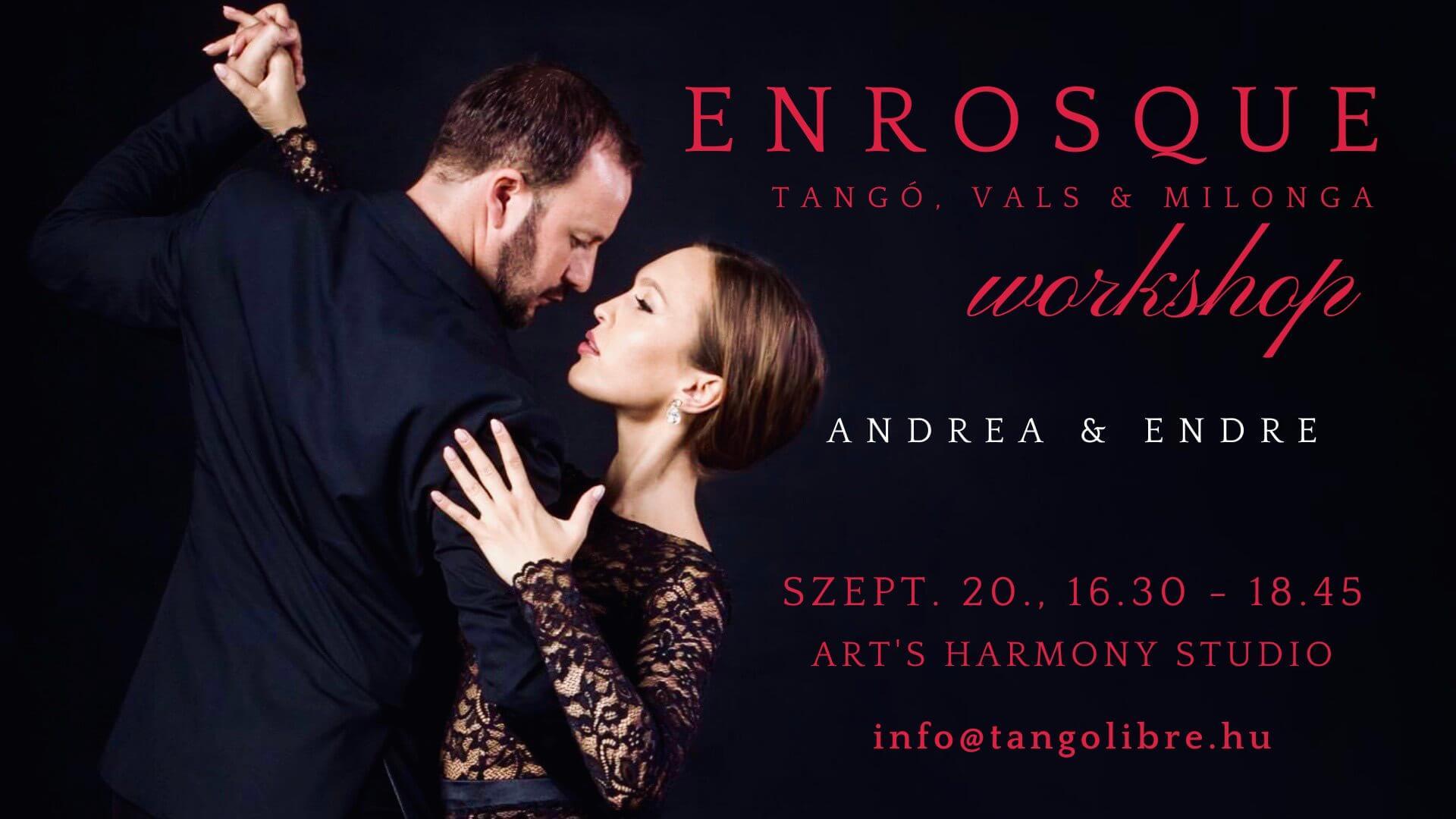 tango enrosque workshop