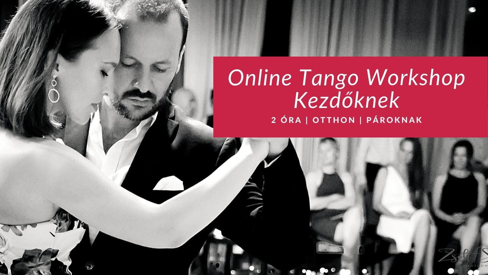 online intenzív tangó kezdőknek